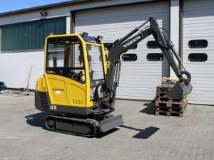 Excavator second hand mini