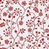 Folie 1-2-3 static, cu flori rosii