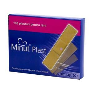 Plasturi prim ajutor  100buc/cut