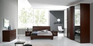 Dormitor modern wenghe