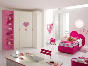 Camera tineret crem roz italia castello for Emmezeta arredamenti