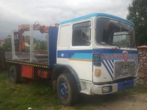 Camion lemn cu macara