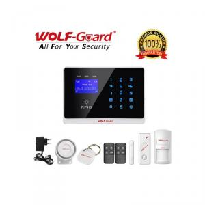 Alarma wireless cu touchscreen si RFID Wolf-Guard YL-007M2FX