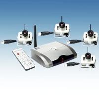 Kit camere supraveghere wireless 4 camere 208c