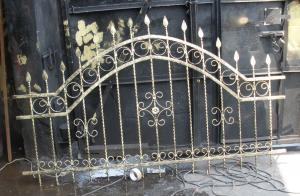 Garduri metalice fier forjat