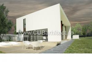 proiecte case moderne casa aca alexantria teleorman - Casa Cub Moderne