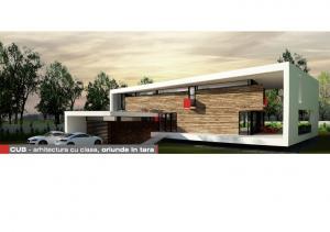 casa crf proiecte case arhitectura - Casa Cub Moderne