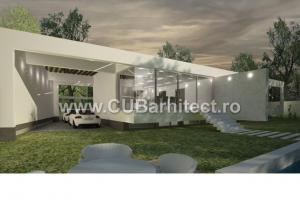Proiecte case moderne casa cig prelungirea ghencea ilfov cub arhitecture 158 cub - Casa cub moderne ...