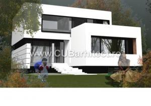 Proiecte case moderne - ILI Iasi, CUB Arhitecture, 110 - CUB ...