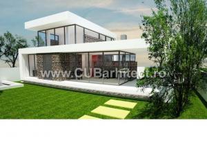 Proiecte case moderne itp pipera ilfov cub arhitecture 116 cub architecture for Casa cub moderne