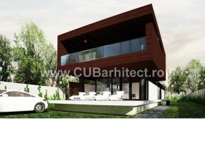 Proiecte case moderne vdc campulung cub arhitecture 127 cub architecture for Casa cub moderne