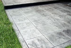 Pavaj din beton amprentat