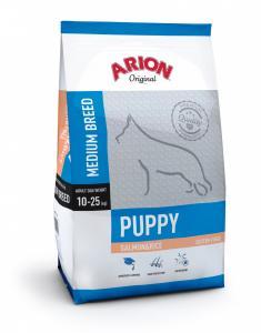 Arion Original Puppy Medium Breed cu Somon si Orez 3Kg