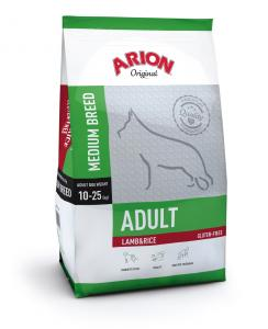 Arion Original Adult Medium Breed cu Miel si Orez 12Kg
