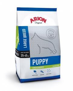 Arion Original Puppy Large Breed cu Pui si Orez 12Kg