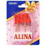 Lumanare nume ALINA