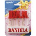 Lumanare nume DANIELA