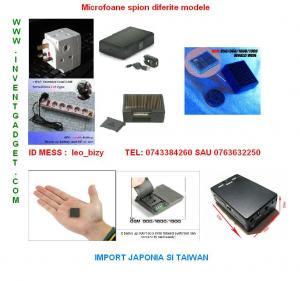 Monitorizare cu detectie voce GDT 007 MICROFON INFINIT GSM ULTRA