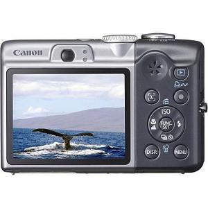 Canon PowerShot A1000 IS 10.0 MP gri + Card 2 GB-AJ3210B002AA