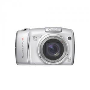 Canon PowerShot SX110IS silver, 9.0MP-AJ2666B002AA