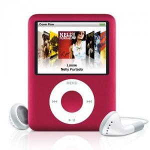 Apple iPod Nano 4GB, Pink-ma489zt/z