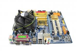 Kit placa de baza Gigabyte GA-945GCMX-S2, socket LGA775, Intel Pentium Dual E2140 1.6Ghz, Heatsink + Cooler
