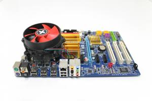 Kit placa de baza Gigabyte GA-EP35-DS3, socket LGA775, Intel Core 2 Duo 2.66Ghz, Heatsink + Cooler