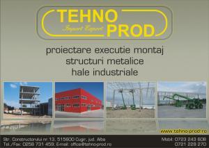 Constructii industriale hale metalice