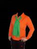 Camasa portocalie slim