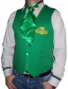 Vesta verde ospatar vanzator
