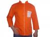 Tunica de bucatar portocalie