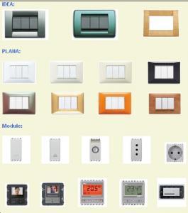 Aparate electrice modulare intrerupatoare