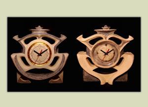 Ceas decorativ ceramica handmade
