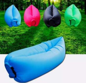 Sezlong gonflabil Lazy Bed umflare rapida