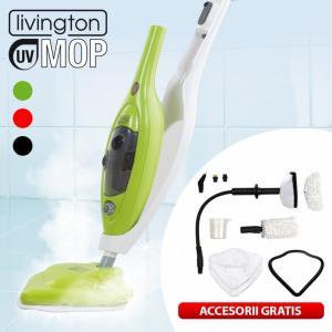 Mop multifunctional cu aburi si lumina UV 8in1