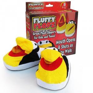 Papuci model jucarie pentru copii Fluffy Flopz S,M,L