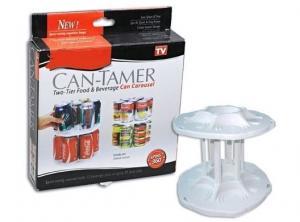 Can Tamer organizator rotativ cutii conserve
