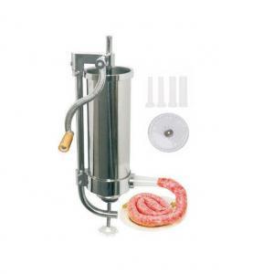 Aparat vertical de facut carnati Inox capacitate 1,25 Kg