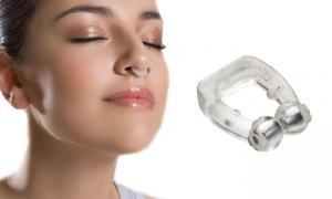 Dispozitiv anti sforait Nose Clip