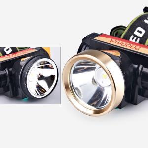 Lanterna frontala cu acumulator LED cree 20W TD-805