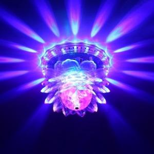 Lampa Sunflower multicolora LED rotativa