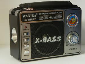 Mini MP3 player cu tuner AM/FM/SW  Waxiba XB-6061URT