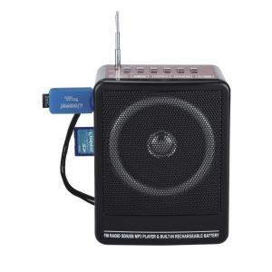 Mini Radio FM portabil cu mp3 si slot SD/MMC Yuegan YG-911UA