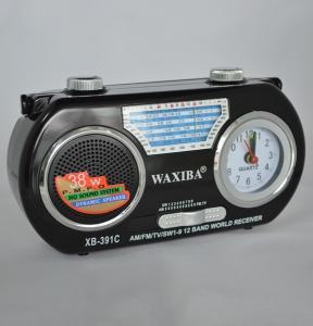 Mini Radio AM/FM/SW cu ceas Waxiba XB-391C