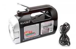 Mini radio cu ceas si lanterna Waxiba XB-381C