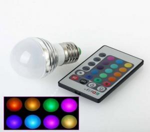 Bec LED Colors RGB 16 culori cu telecomanda