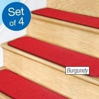 Set carpete anti-alunecare pentru trepte 4 bucati