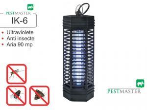 Distrugator de insecte zburatoare precum muste, tantari, molii - Pestmaster IK6 (acopera aprox. 90mp)