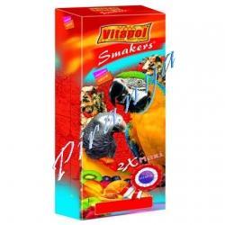 Vitapol batoane papagali mari Maxi cu fructe 450 g