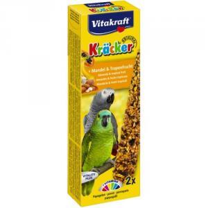 Baton Papagali Vitakraft Migdale/fructe Tropicale 2 Buc